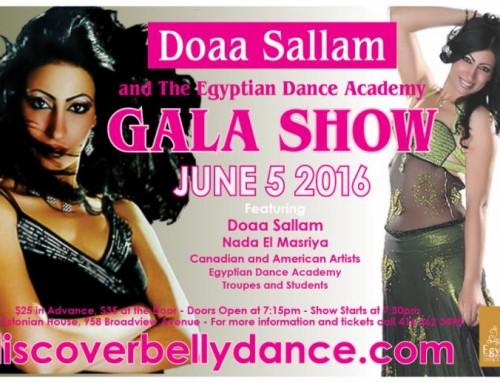 Doaa Salam Gala Show – June 5, 2016