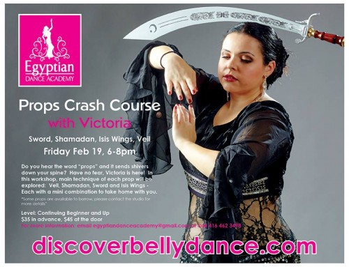 Props Crash Course – Friday February 19